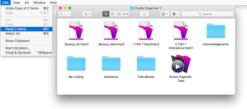 Paste Backups Mac